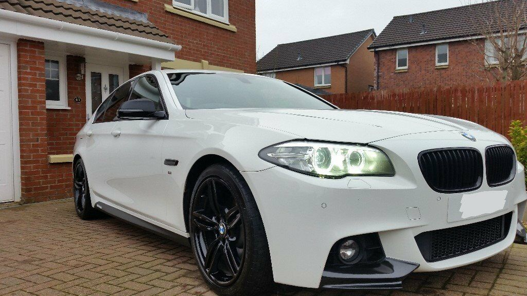 2013 BMW 5 Series 520d MSport with MSport Plus Package 184bhp