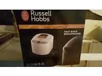Russell hobbs fast bake breadmaker in box