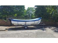 16 foot Orkney Long Liner fishing boat