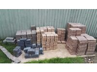400+ Assorted Marshalls Paving blocks