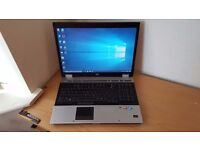 "17"" HP Laptop/Mobile workstation Wndows 10 Office 4GB RAM 500GB HDD Wifi"