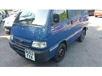 Daihatsu hijet 130 efi/suzuki carry mini bus, can be used as camper van. very good condition