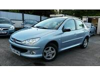 2005 55 Peugeot 206 1.4 Verve 5 DR 88000 miles good condition px welcome