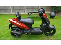 50cc kymco. Runs but needs work. Read the notes before calling. Can deliver