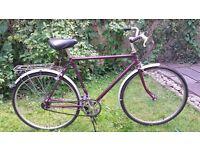 Vintage Raleigh Bike (med. sized frame)