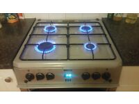 Gas cooker with double oven, excellent condition