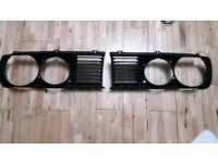 BMW e28 5 series front grill grille pair 81-88 breaking spares 518i 520i 525e m535i can post