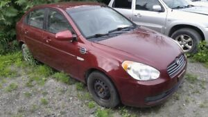 2007 Hyundai Accent GL (Automatic, A/C, Electric group)