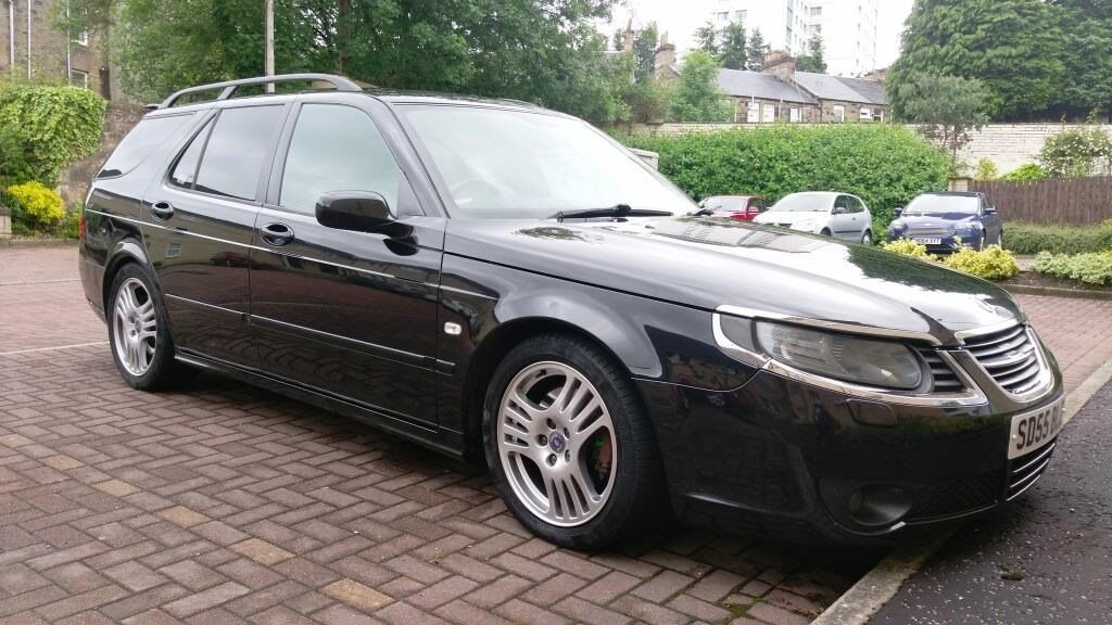 saab 9 5 aero hot estate 2005 in falkirk gumtree. Black Bedroom Furniture Sets. Home Design Ideas