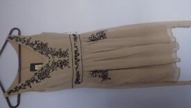 Stunning Oasis Brand New Embroidered Dress - size 8