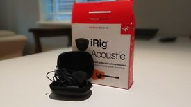 irig acoustic in as new condition.
