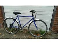 Men's Claud Butler 18 speed Road bike.