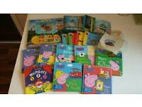 Large bundle of 18 children's board books