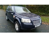 FREELANDER 2 2.2 TD4 S 5 DOOR 07 REG IN MIAMI BLUE WITH GREY TRIM, SERVICE HISTORY, MOT NOV 2018