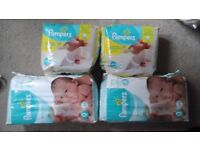 Pampers size zero nappies unopened