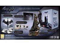 New & Boxed Batman: Arkham Origins Collector's Xbox 360