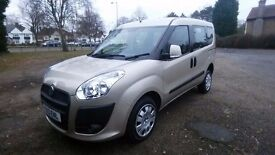 Fiat Doblo, my life, 2013 wheelchair accessible vehicle with folding ramp, low mileage