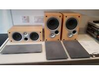 Kef coda 70 + 80 speakers