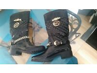 Lady's size 7 black boots