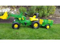 Childs john deere tractor