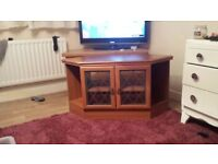 Wooden TV stand £20