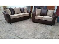 BRAND NEW 3 SEATER PLUS 2 SEATER £349 HAND MADE