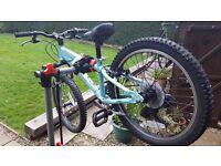 "Girls' Mountain Bike - 20"" 6-8 years of age Carrera Luna"