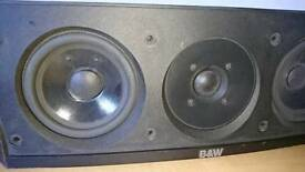 B&W center speaker CC3 home Cinema 5.1