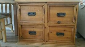 Solid wood unit/cabinet