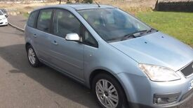FORD FOCUS C.MAX 1.8 GHIA exc. FURTHER REDUCED now only £795.
