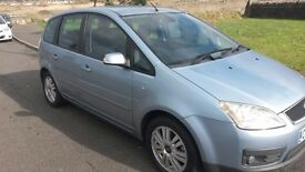 FORD FOCUS 1.8 GHIA MPV. exc condition ; REDUCED now only £895.