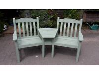 Garden Love Seat - DELIVERY AVAILABLE
