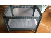 Mothercare travel cot in great condition