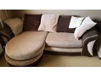 Corner sofa and armchair good condition