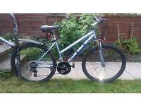 "Ladies(women's)/girls bicycle/mountain bike 18 gears 26"" wheels"