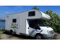 Chausson Flash O3 motorhome, 2008, low mileage, 6 seatbelts, garage