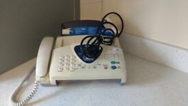 Brother Fax - T96 with telephone/answerphone/clock/...