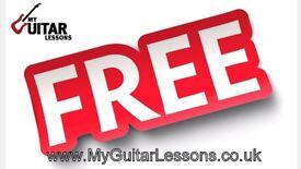 FREE GUITAR LESSON IN DOVER & FOLKESTONE