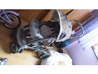 2 car seats and travel buggy