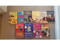Assortment of david Williams, Michael mopurgo and other books