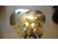 Sabian XS20 5 Piece Cymbal Set - Brand New Condition