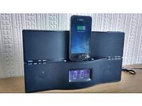 Fm radio. iPhone 4 charger iPod docking station