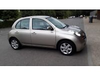 nissan micra automatic, excellent condition, low mileage, full service history