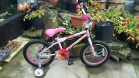Girls apollo roxie bike