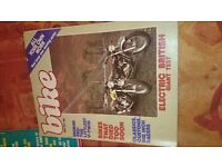 Joblot vintage motorcycle mags