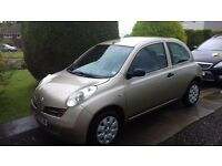 Nissan micra 2003 gold cheap to run and insure