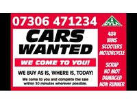 ‼️ WANTED ALL CAR VAN 4x4 CASH ON COLLECTION SELL MY SCRAP TODAY