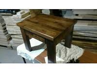 New walnut coffee table