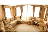 2 Bedrooms Static Caravan for Sale, Double glazed & Central Heated throughout