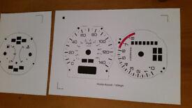 Honda accord white dial stickers 2.0 litre auto